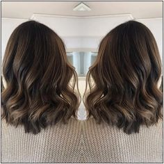 Trendy Brown Hair Color Ideas You Can Try brown hair colors, brown hair with caramel highlights, ashy brown hair, chocolate brown hair Ombre Hair Long Bob, Ombre Hair Color, Brown Hair Colors, Bronde Hair, Balayage Hair, Balayage Brunette Short, Medium Brunette Hair, Bayalage, Medium Hair Styles