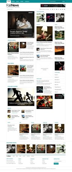 Fast News is fully responsive, unique, rich look magazine wordpress theme