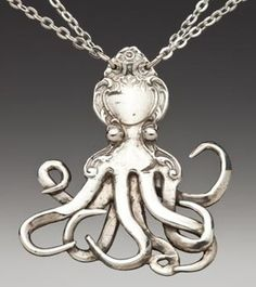 Silver Spoon Jewelry: Vintage Spoon and Fork Jewelry: Octopus ... silverspoonjewelry.com