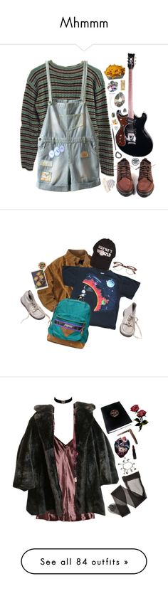 """Mhmmm"" by fijibaby ❤ liked on Polyvore featuring Prada, JanSport, tumblr, pale, indie, grunge, aesthetic, T By Alexander Wang, Rubie's Costume Co. and MAKE UP STORE"