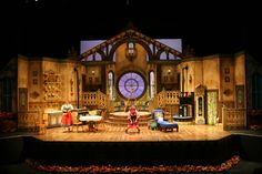 Set for 'The Underpants', Tennessee Repertory #Theatre