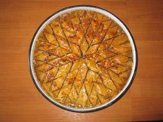 Next batch of baklava, I should cut it in a star pattern!