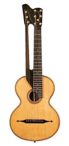 Раритетные семиструнные гитары.