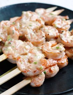 Bangin' Grilled Shrimp Skewers | No. 8 of Top 10 Most Popular Weight Watcher Recipes