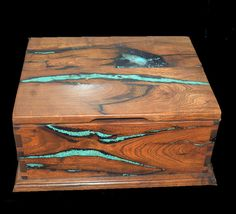 Mesquite & turquoise large box