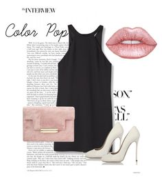 """""""Sin título #33"""" by loraine-parroquin on Polyvore featuring moda, MANGO, Dsquared2 y Lime Crime"""