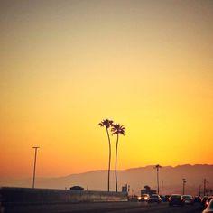 Photo: California Dreamin' - Sunset over Pacific Coast Highway yesterday #KarenKane