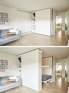 Sliding walls are popping up in all kinds of dwellings, providing privacy and flexibility to any given space in any given room. Suddenly a tiny city apartment, which doesn't offer an official bedroom, can become a 1-bedroom space with these pretty partitions by Ikea. Not only does this mean convenience and privacy for those who …