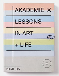 AKADEMIE X book / designed and illustrated by Julia Hasting