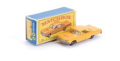Matchbox Taxi Cab, 1960's. I still have this car.