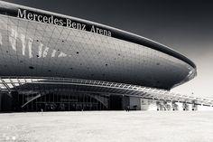 mercedes-benz arena in Shanghai