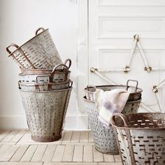 Wash buckets