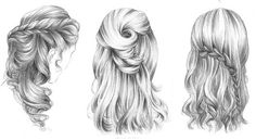 Les coiffures double jeu de 365c Dessin Dessin