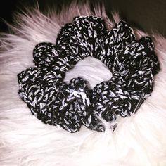 Hæklet scrunchie 😍
