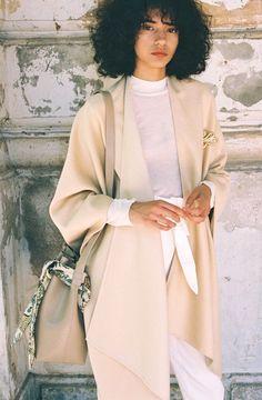 Nanushka Spring/Summer 2018 Ready To Wear | British Vogue // shot by Fauve Bouwman // www.fauve-bouwman.com