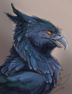 This is a friend's handsome gryphon character for a roleplay I am overseeing. I hope to illustrate all of the characters in the same style. No stealin No references used Mythical Creatures Art, Mythological Creatures, Magical Creatures, Creature Drawings, Animal Drawings, Art Drawings, Wolf Drawings, Fantasy Beasts, Fantasy Art