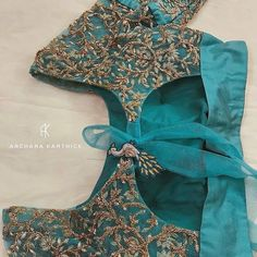 Netted Blouse Designs, Blouse Designs High Neck, Pattu Saree Blouse Designs, Hand Work Blouse Design, Stylish Blouse Design, Designer Blouse Patterns, Fancy Blouse Designs, Bridal Blouse Designs, Designer Dresses