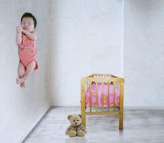 Baby trick art