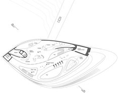 Concept villas for golf and spa resort by Zaha Hadid Architects Shell