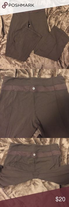 Lulu Lemon Yogas! 🔥FINAL PRICE🔥 I have some brown Lulu Lemon yogas pants. These lulu's can be turned inside out as well. Fits like a size Medium lululemon athletica Pants