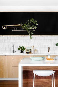 Greenery trombone=seriously next-level biz. Finnon Glen designed by Fiona Lynch.