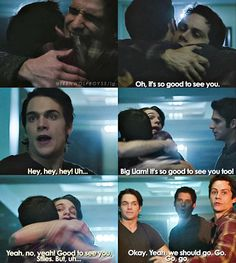 Find images and videos about teen wolf, stiles and liam on We Heart It - the app to get lost in what you love. Teen Wolf Scott, Teen Wolf Boys, Teen Wolf Dylan, Teen Tv, Teen Wolf Quotes, Teen Wolf Funny, Scott Mccall, Teen Wolf Scenes, Vampire Diaries