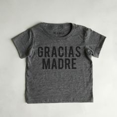 Our bold, yet understated, modern tees are available in two colorways, grey/black and charcoal/gold. These super soft tees have a vintage feel and . Baby Boy Fashion, Kids Fashion, Cool Slogans, Slogan Tshirt, Kid Styles, Cool Kids, Boy Outfits, Baby Kids, Have Fun