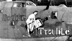 WWII Nose Art (1940s aircraft graffiti)