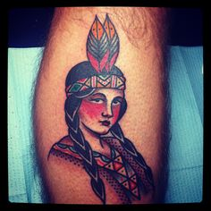 indian girl tattoo | Tumblr