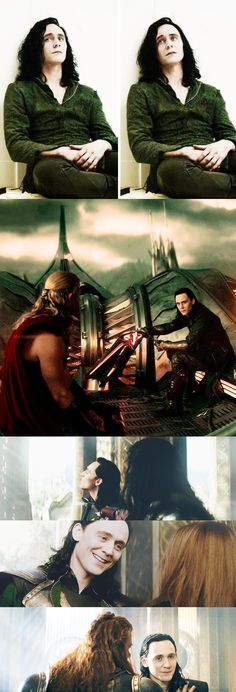 "Tom Hiddleston ""Loki"" Stills from ""Thor : the Dark World"""