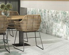 New bamboo patterned tile - add a bit of greenery to your home