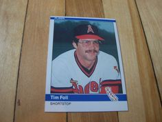 1984 Fleer Card #516 TIM FOLI