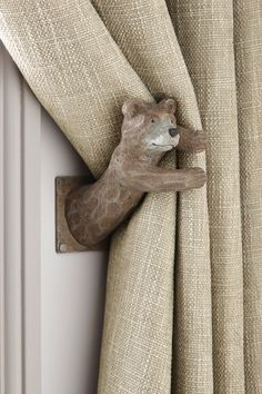 Buy Set of 2 Barnaby Bear Curtain Holdbacks from the Next UK online shop
