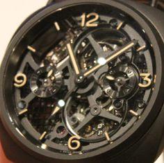 Panerai Radiomir Tourbillon GMT Ceramica 48mm Lo Scientziato Watch