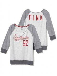 PINK St. Louis Cardinals Vintage Crew #VictoriasSecret http://www.victoriassecret.com/pink/st-louis-cardinals/st-louis-cardinals-vintage-crew-pink?ProductID=106461=OLS?cm_mmc=pinterest-_-product-_-x-_-x