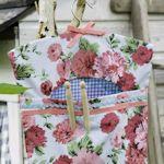 """26 patterns for clothes pin bags. Preciosos patrones para confeccionar bolsas """"a la antigua"""""""