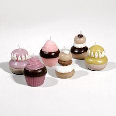 Cupcakes candles - Maison du Monde