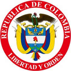 Presidential Seal of Colombia Hearts Of Iron Iv, Heart Of Iron, Latin American Flags, Colombian Flag, Presidential Seal, Youre Crazy, Colombia Travel, National Symbols, Military Insignia