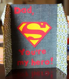 Still deciding on what to give Dad this Father's Day? If you can't decide, why not go with a sure fire DIY gift idea he'll appreciate, Father's Day cards! Diy Father's Day Gifts, Father's Day Diy, Fathers Day Cards, Happy Fathers Day, Fathersday Crafts, Father's Day Activities, Dad Day, Masculine Cards, Paper Cards