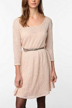 Kimchi Blue Cozy Sweater Dress