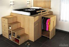 ottimizzare lo spazio in camera da letto