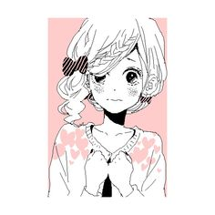 kawaiiness ❤ liked on Polyvore featuring anime, pictures and pink