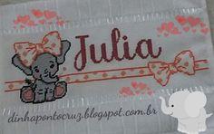 Amando bordar esse enxoval da pequena Julia, hoje mas uma elefofa Segue os fofograficos