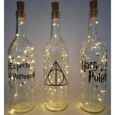 baby shower decorations 787918897286487833 - Home Design Ideas: Home Decorating Ideas Bathroom Home Decorating Ideas Bathroom Wine bottle lights Harry Potter decor fairy light bottle Source by Baby Harry Potter, Harry Potter Baby Shower, Deco Noel Harry Potter, Objet Harry Potter, Harry Potter Motto Party, Harry Potter Thema, Theme Harry Potter, Harry Potter Wedding, Harry Potter Birthday