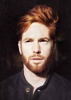 I have always had this thing for red-headed men. I don't know what it is.