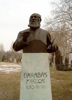 Barabas Miklós sírja Budapesten a Kerepesi temetőben (Telcs Ede alkotása)