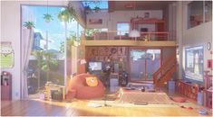 Room Anime Loop [Wallpaper Engine Anime] - Most creative wallpapers Anime Scenery Wallpaper, Anime Backgrounds Wallpapers, Wallpaper Size, Pastel Wallpaper, Room Wallpaper, Cute Wallpapers, Anime Wallpaper 1920x1080, Cloud Wallpaper, View Wallpaper