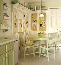 could get cluttered, and feels a little DIY, but great idea... better for a back hall or mudroom?