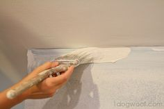 How to Paint Without Taping - One Dog Woof