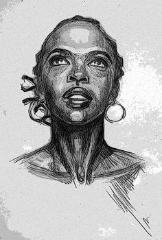 Lauryn Hill by ElSDrugom on DeviantArt
